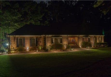 Brick-Home-Exterior-Lighting