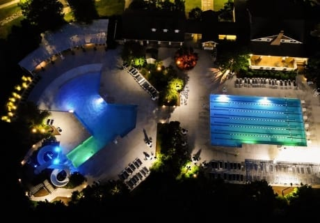 Pool Lighting for Night Time Use