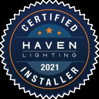 Certified Installer Haven Lighting 2021 Logo